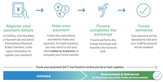 International Wire Transfer Payments